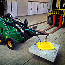New Portable Vacuum Lifting System