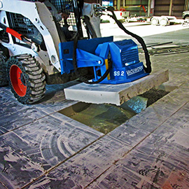 SS 2 Vacuum Lifting System Offers Solution for Skid Steers